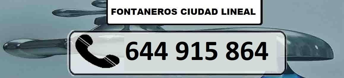 Fontaneros Ciudad Lineal Madrid Urgentes