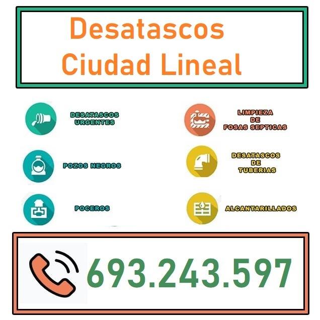 Desatascos Ciudad Lineal